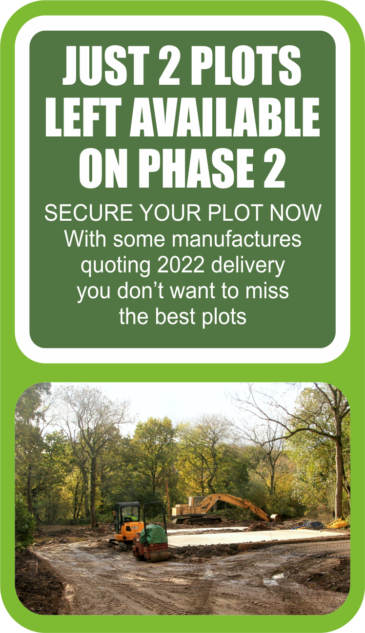 Charnwood acres JUST 2 PLOTS AVAILABLE
